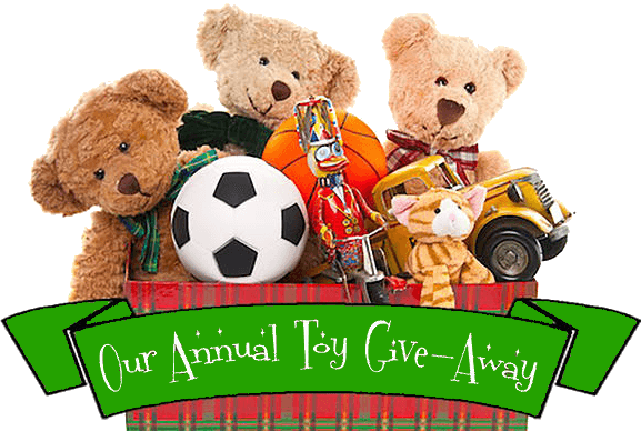 Our Annual Toy Give-Away