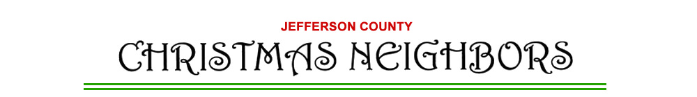 Jefferson County Christmas Neighbors
